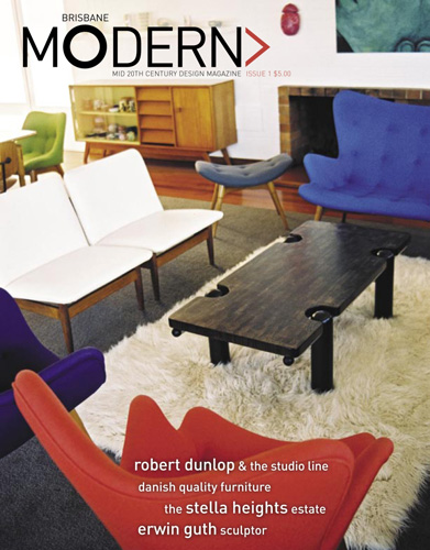 Brisbane Modern - Issue 1 Cover