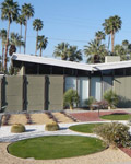 Palm Springs. An example Alexander house and Garden