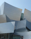 Los Angeles. Walt Disney Concert Hall 2003. Architect Frank Gehry
