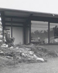 The Gap. Lumer House exterior1962. Architect, Donald Spencer