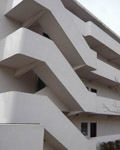 London, Hampstead. Lawn Road Flats 1934. Architects, Isokon