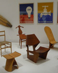 New York. MOMA Chair Display