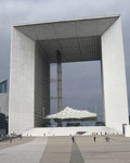 Paris. La Defense.  La Grande Arche Building 1989. Architect, Johann Otto von Spreckelsen